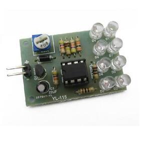 12V Breathe Light 8-LED Flashing Lamp Parts Electronic DIY Module LM358 Chip