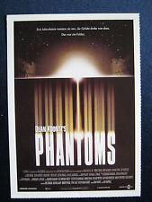 Filmplakatkarte cinema  Phantoms   Peter O´Toole