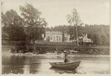 Abbotsford House, River Tweed England c1870 James Valentine Albumen Print Photo