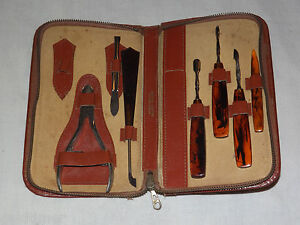 VINTAGE-SOLINGEN-WESTERN-GERMANY-MANICURE-SET
