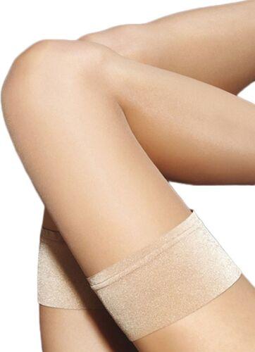 Marilyn Make-Up Women/'s Exclusive 10 Denier Silk Plain Top Sheer Hold Ups