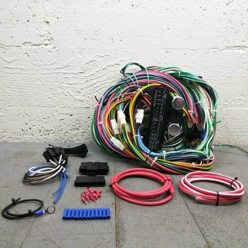 1971-1991 Ford Bronco Wire Harness Upgrade Kit fits painless new complete KIC