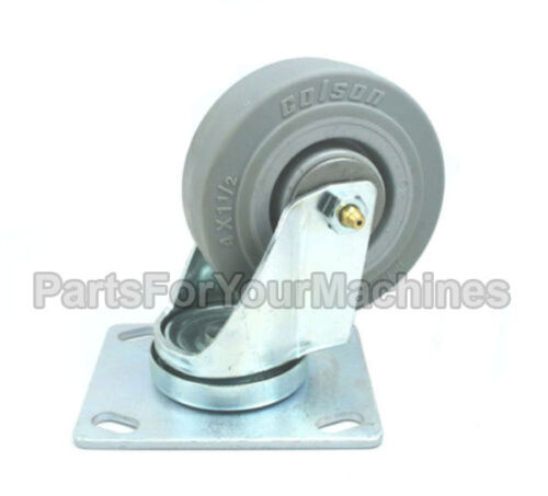 """5500 SCRUBBERS 612056,1049048 TENNANT 5300 5400 4/"""" SWIVEL CASTER BY COLSON"""