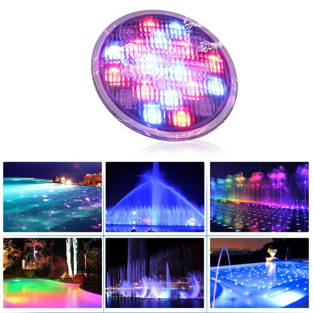 Swimming Pool Light LED 18W DC24V Underwater Light for Pond Fountain Decoration