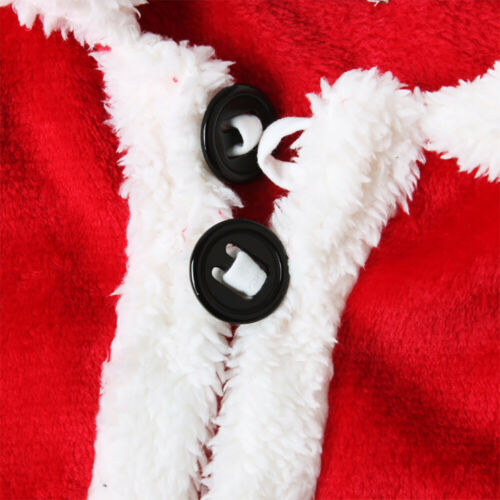 Details about  /Toddler Baby Boys Girls Christmas Xmas Santa Tops Pants Hat Clothes Outfits Set