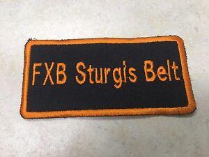 HARLEY DAVIDSON FXB Sturgis Belt Patch