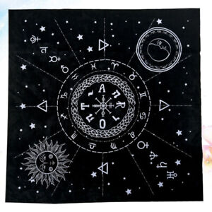 1pc Pagan Altar Cloth Creative Table Runner for Bar Festival Home