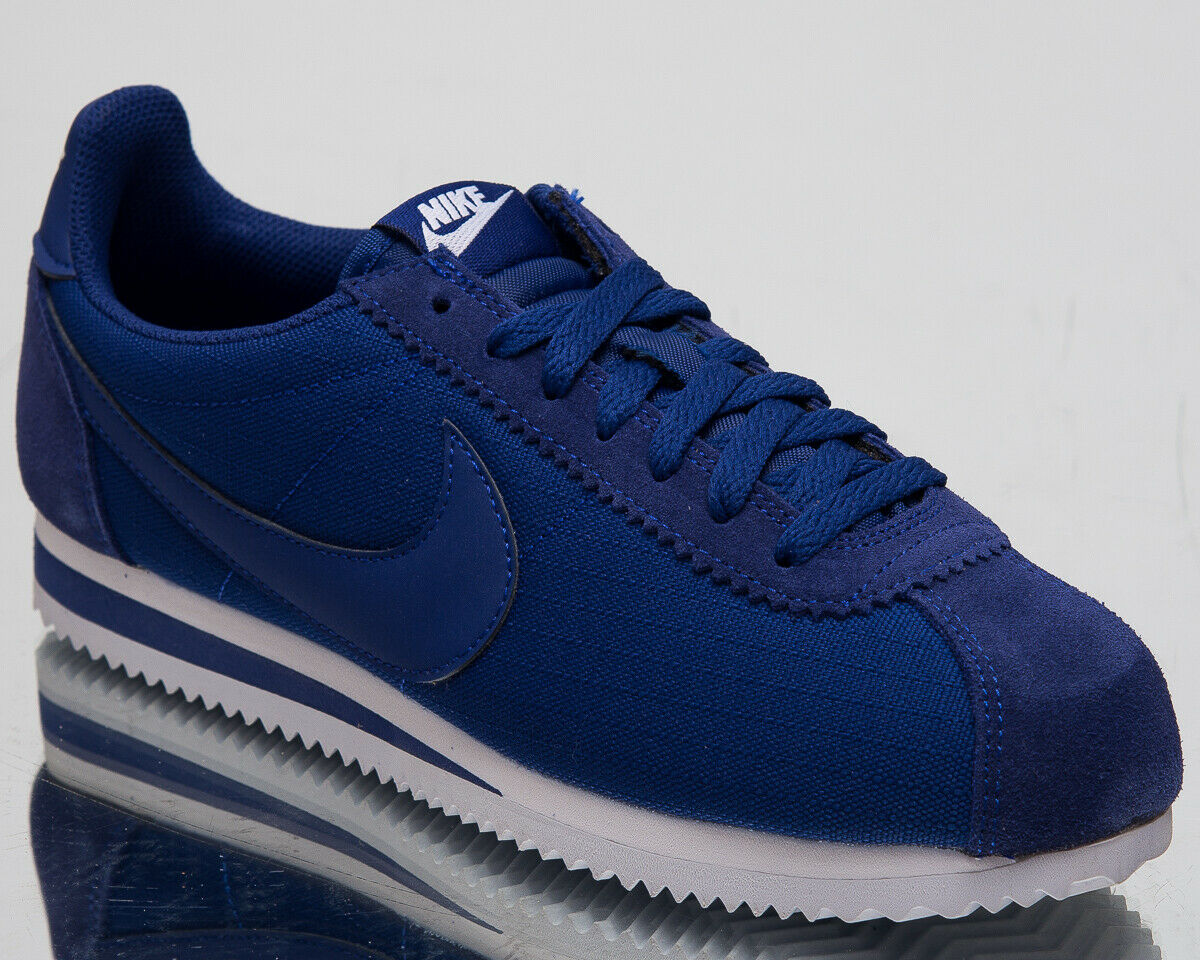Nike Classic Cortez Nylon Nuevo Profundo Azul Real Informal