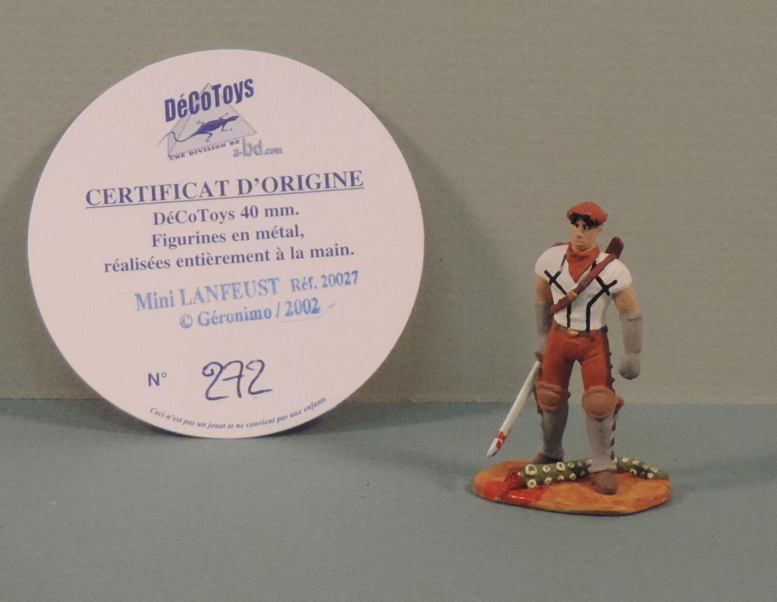 Lanfeust de troy mini - statuette metall decotoys 20027 numerote
