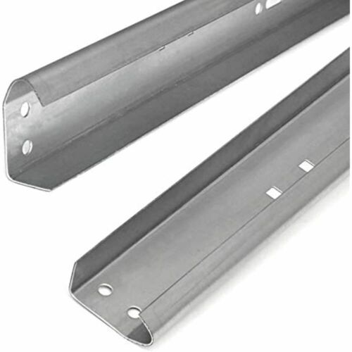 Rails Garage Door Vertical Track Replacement Set Of Left And Right 7 Foot Tall