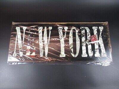 New York Holz Schild 48 cm,Wood Sign,Vintage Look,Wandbild,Stars/&Stripes
