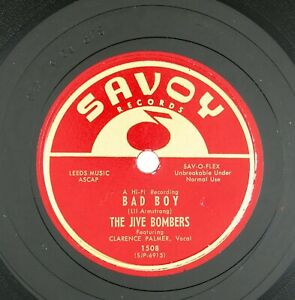 JIVE-BOMBERS-Bad-Boy-When-You-Hair-Has-Turned-To-10-IN-1956-R-amp-B-NM-LISTEN