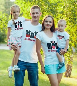 Disney-theme-Birthday-Boy-Family-Birthday-Minnie-Mickey-matching-T-Shirts
