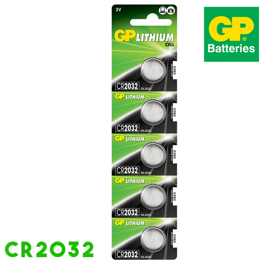 Cr2032 3v lithium batteries for watches button key keyring toy calculator