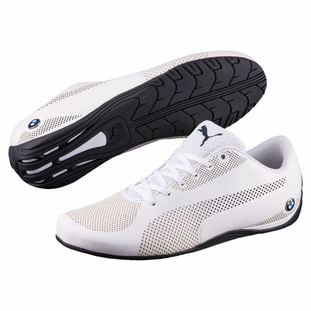 NIB homme Puma BMW Motorsport Drift Cat 5 Ultra Training chaussures blanc