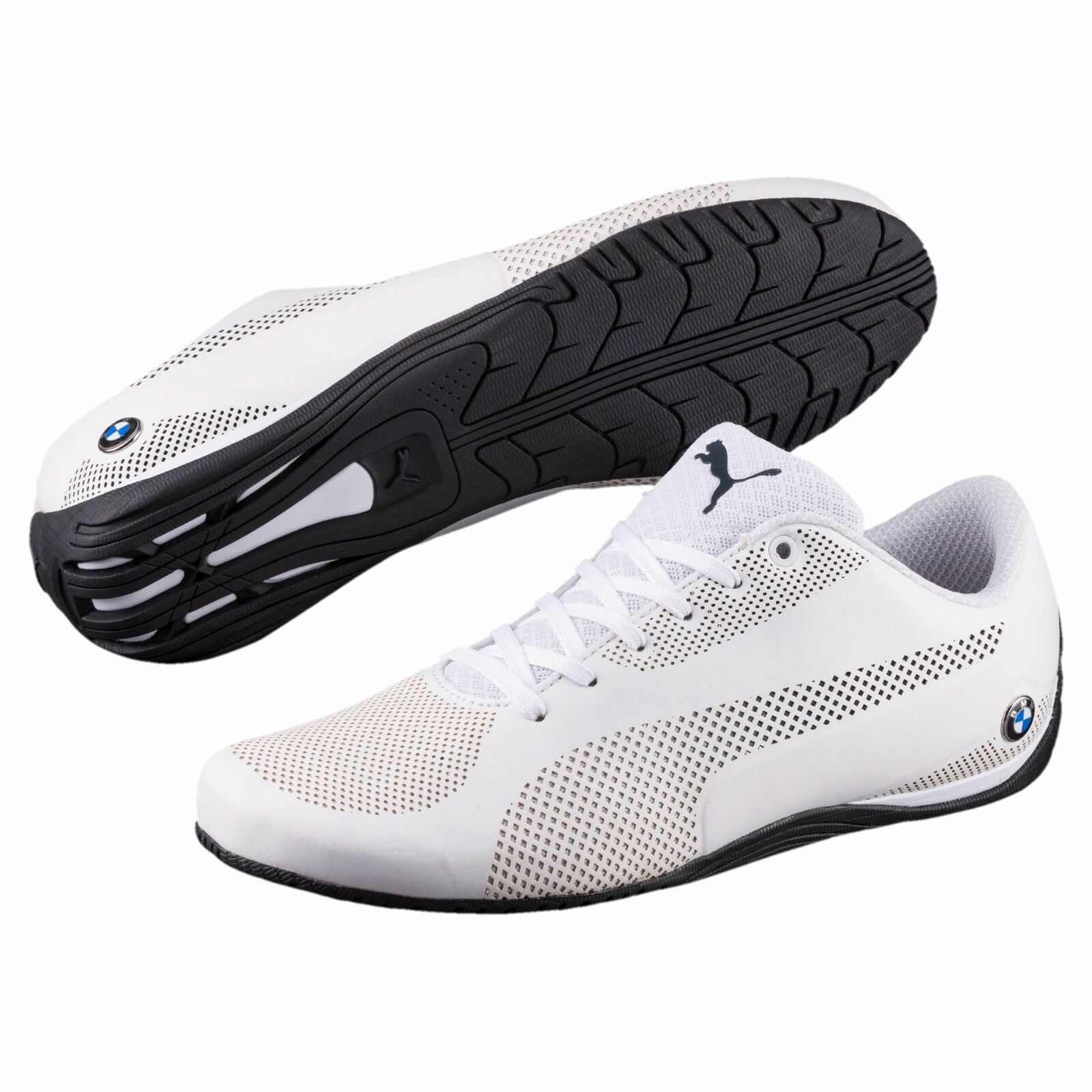 NIB Men's Puma BMW Motorsport Drift Cat 5 Ultra Training Shoes White