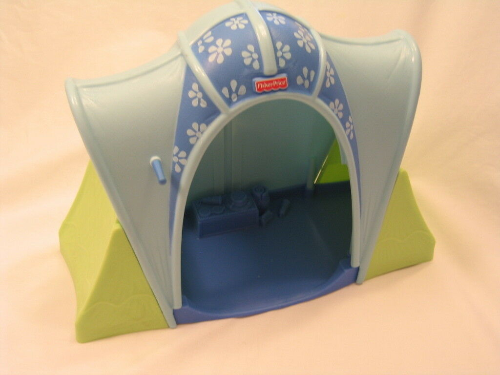 New FISHER PRICE Loving Family Dollhouse LARGE CAMPING TENT Outdoor Fun Campsite