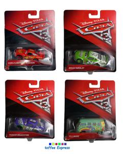 Mattel-Disney-Pixar-Cars-3-diecast-4-cars-bundle-set-BRAND-NEW-Ligthing-Mcqueen