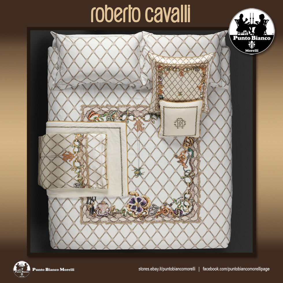 ROBERTO CAVALLI HOME   NEW SPIDER Quilted bedspread