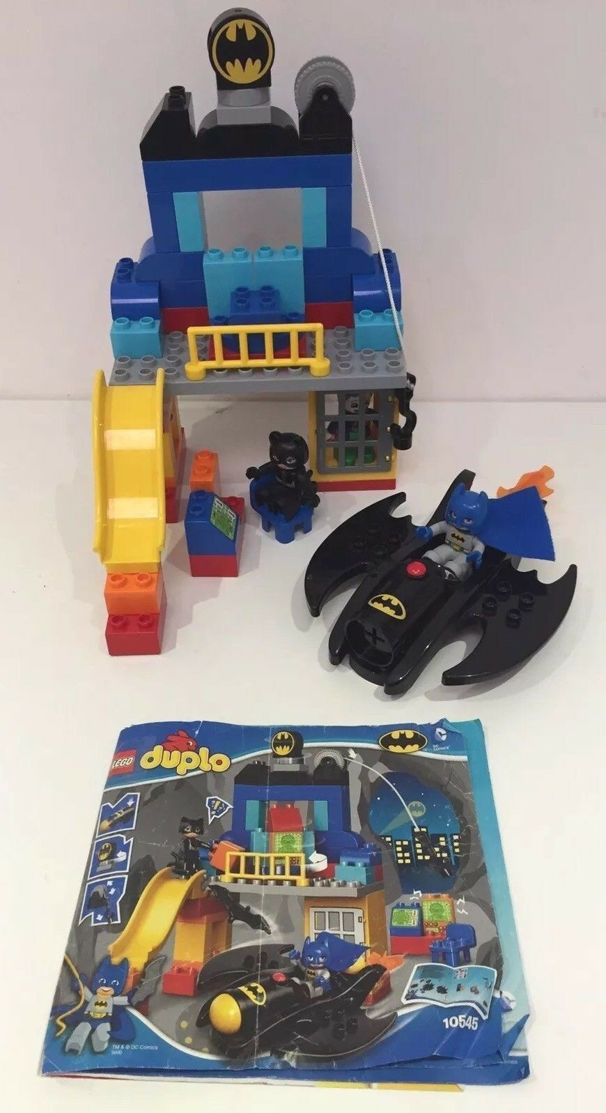 BATMAN LEGO DUPLO BATCAVE ADVENTURES JOKER ROBIN BATWING FIGURES SET 10545