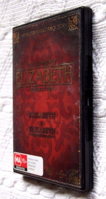 Elizabeth  / Elizabeth - The Golden Age (DVD, 2-Disc) R-2+4, LIKE NEW, FREE POST