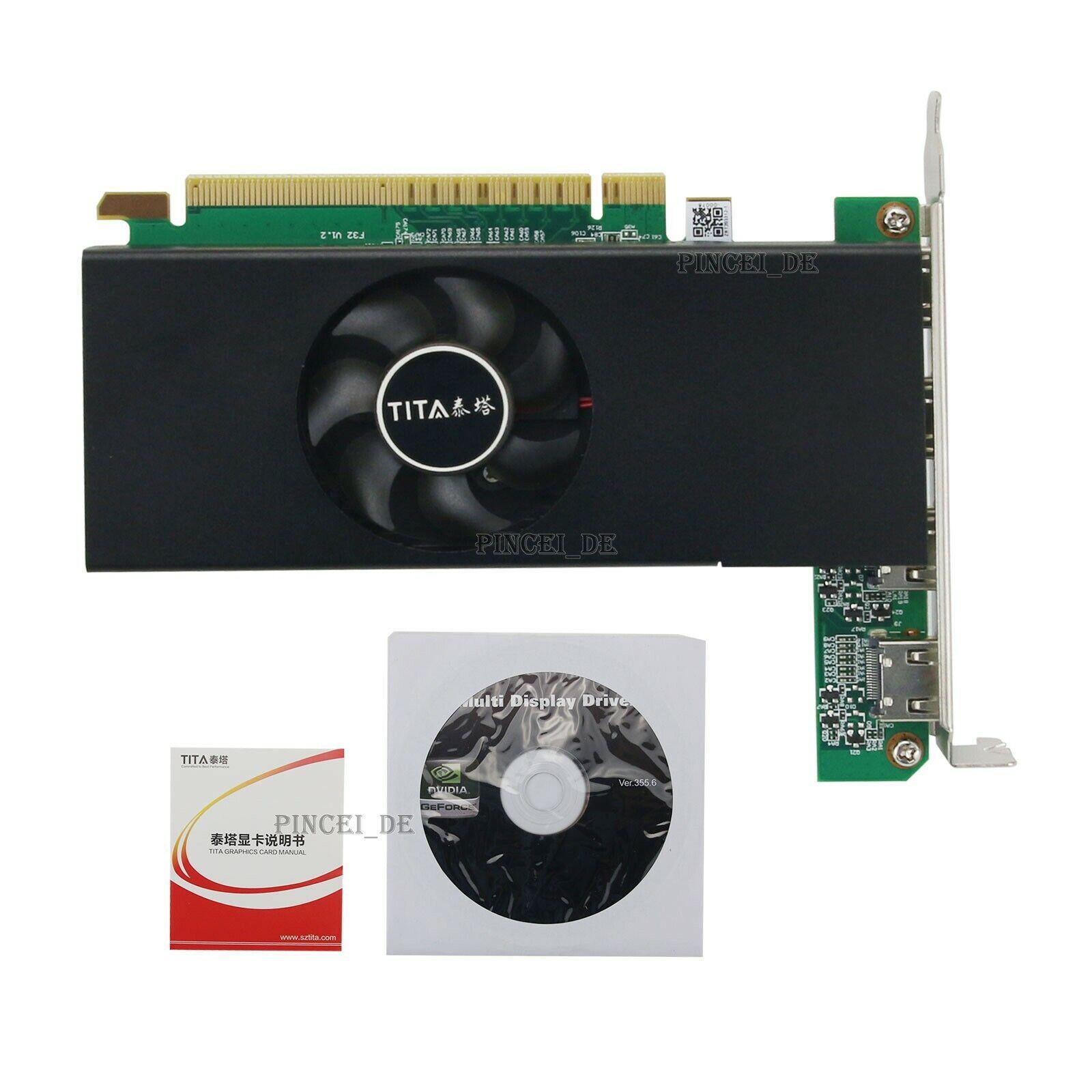 Video Card HDMI Graphics Card 4 HDMI Port 2GB DDR3 For Linux Windows 8/7/Vista
