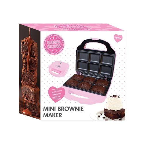 MINI Brownie Maker rosa-Global Gizmos elettrodomestico da cucina cibo Maker