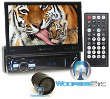 "pkg SOUNDSTREAM VR-75B 7"" TV CD DVD MP3 SD USB AUX BLUETOOTH STEREO + XO CAMERA"