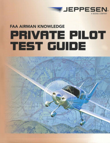 Released March 2018 Jeppesen Private Pilot Test Guide 10001387-023