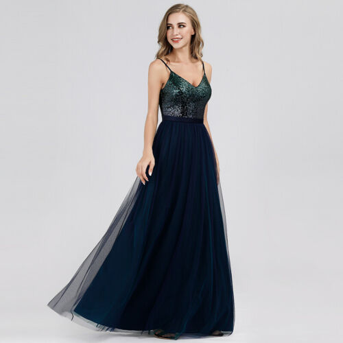 Ever-Pretty Sleeveless Backless Party Cocktail Wedding Prom Dresses Ball Gowns
