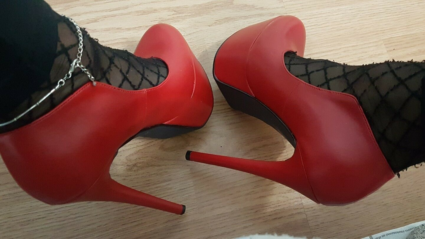 Scarpe donna decolte USATE SEXY TACCO 17 alto usatissime SEXY USATE HIGH HEELS af279a