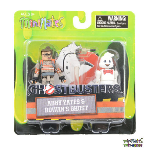 Ghostbusters 2016 Minimates Series 1 Abby Yates /& Rowan/'s Ghost