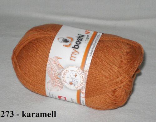 4,40€//100gr Baumwolle das Sommergarn Kapok 50 gr myboshi Wolle No 2
