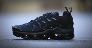 finest selection 44f14 98377 Details about NIKE AIR VAPORMAX TUNED PLUS BLACK, BRAND NEW IN BOX UK SIZE  6 7 8 9 10 11 12