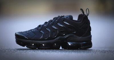 Nike Air Vapormax Tuned Plus Black, Brand New in Box UK Tailles 7, 7.5, 8.5, 9, 10 | eBay
