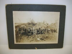 Antique-Cabinet-Card-Photo-Team-of-Sod-Busters