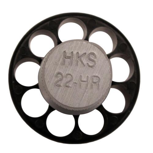 HKS Series HR .22 LR 9 Round Revolver Speed-Loader Model-22-HR