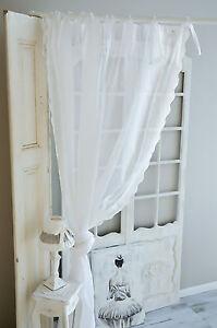 Van Deurs Gardine offwhite 200 x 250 Vorhang Landhaus Shabby Chic
