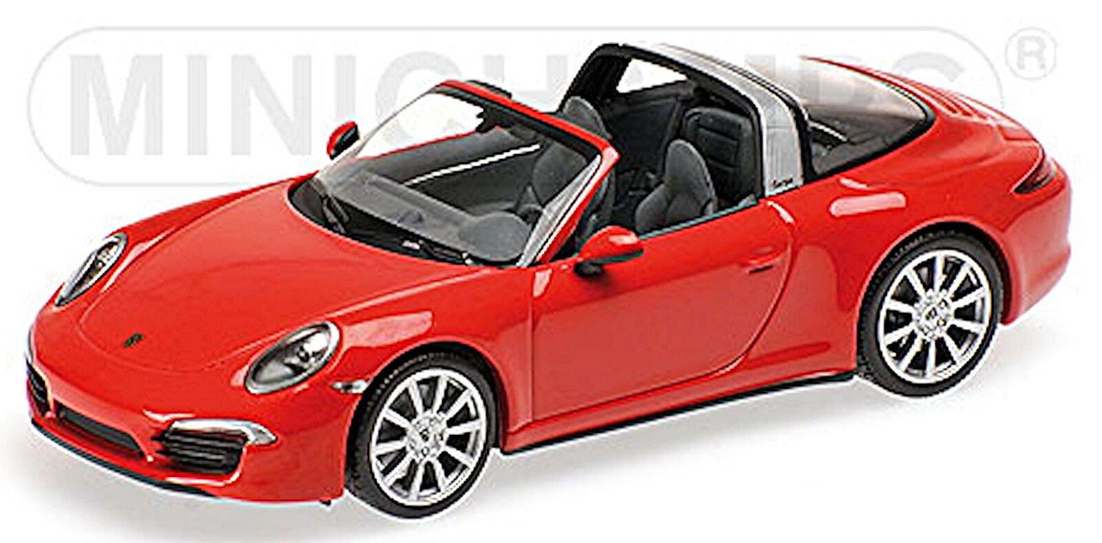 Porsche 911 targa type  991 - 2014-18  indian rouge rouge 1 43  vente