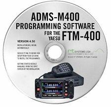 ADMS-M 400 D SOFTWARE GESTIONE PC YAESU FTM-400 DE 700024