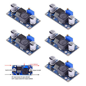 5PCS-LM2596S-DC-DC-Power-Supply-Buck-Converter-Adjustable-Step-Down-3A-Module