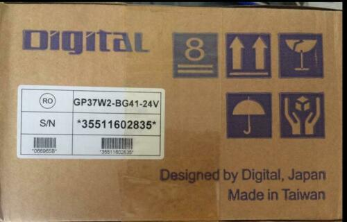 New Pro-face Proface Panel GP37W2-BG41-24V GP37W2BG4124V