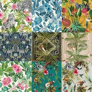 Fine-Holden-Decor-Congo-Tropical-Rainforest-Wallpaper-Assorted-Colours