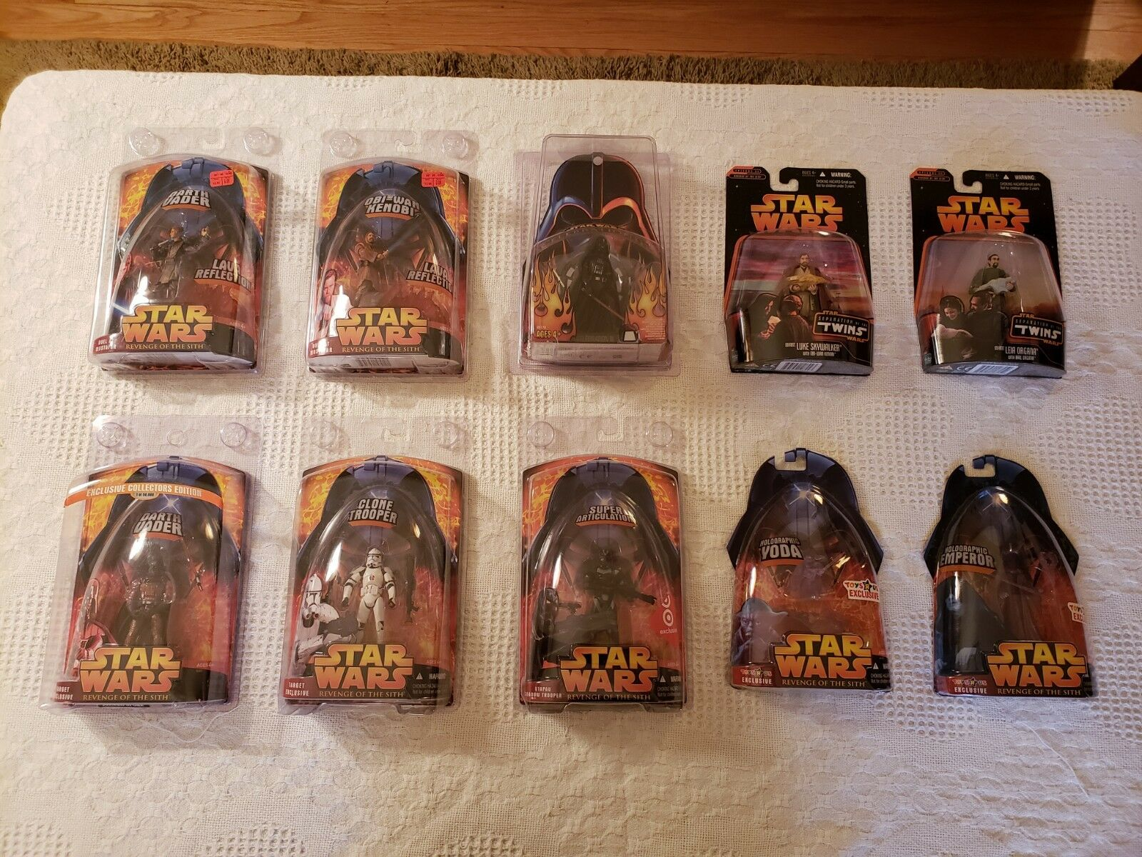 STAR WARS Lot of 155 Figures  Revenge of the Sith (redS) & Power of the Force