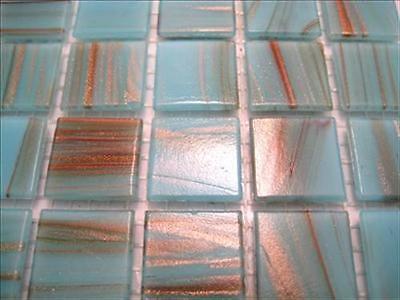 225 Full Sheet  Warm Brown Gold Dust Best Mosaic Tiles Vitreous Tessera