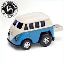 Original VW USB Stick T1 Bulli / Bully in Blau - 8 GB Speicherplatz - aus Metall