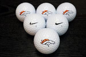 3-Dozen-Denver-Broncos-NFL-Logo-Nike-MOJO-Mint-AAAAA-Used-Golf-Balls