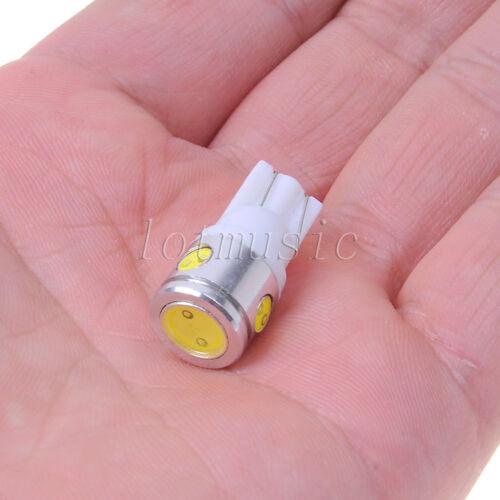 10PCS T10 White 168 194 Cree LED Canbus Bulb Back Up Reverse Light