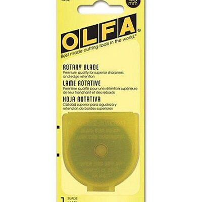 Olfa 45mm Rotary Cutter Blade RB45-1 Tungsten Carbide Tool Steel 9452