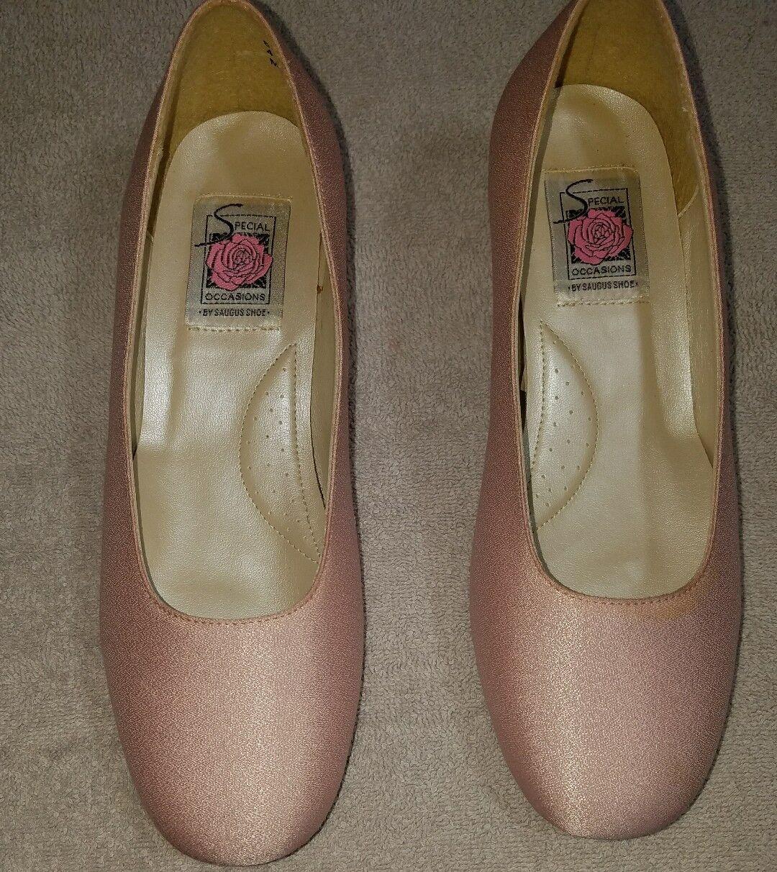 Special Occasions Saugus Schuhe Pink Blush Bridesmaid Sz Pump Niedrig Heel Wedding Sz Bridesmaid 6EE 609a7e